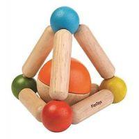 Plan Toys Tvarovací chrastítko Triangle