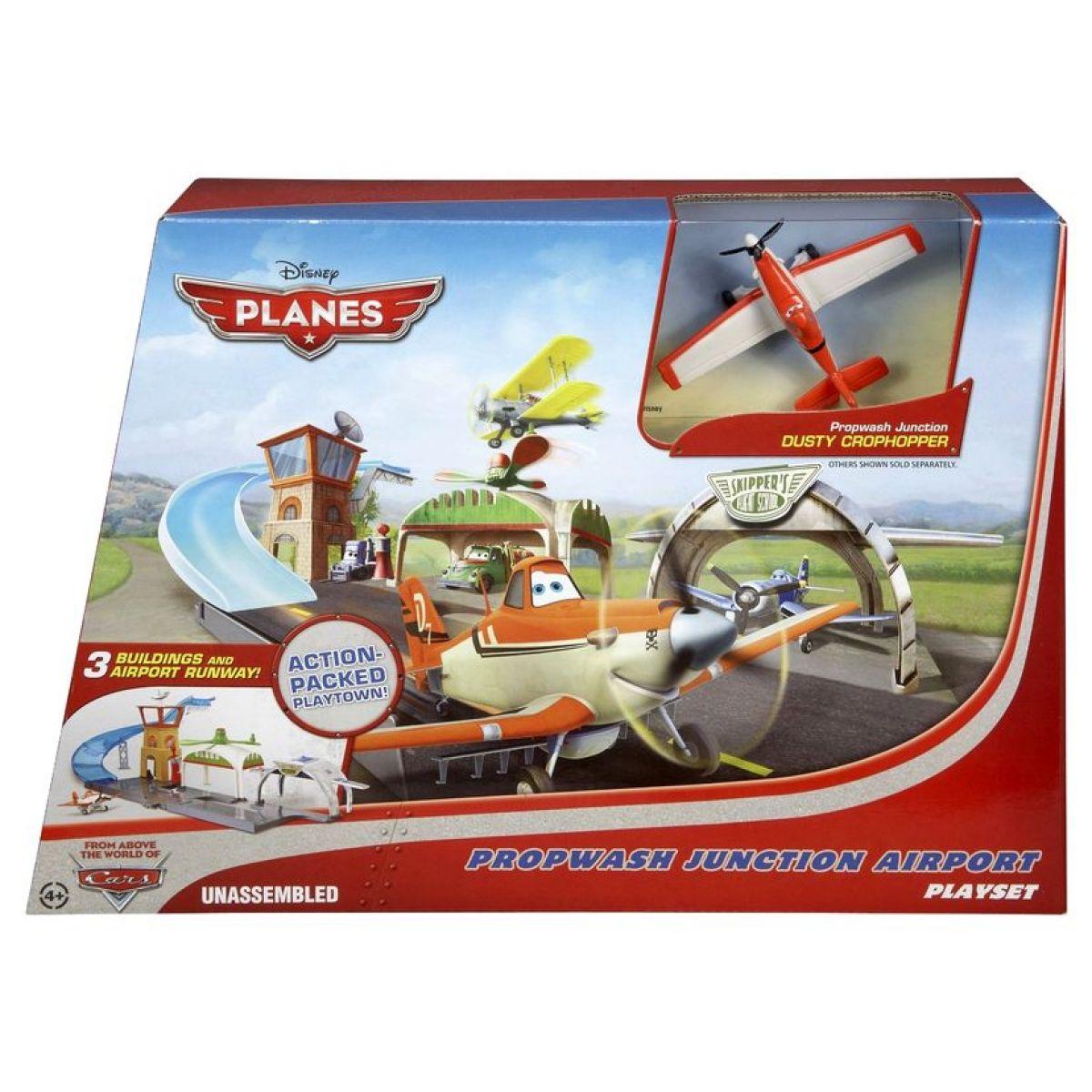 Mattel Y0995 - Planes letiště