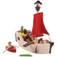 PlanToys Pirátská loď
