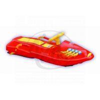 Plastkon Boby Snow Boat - Červené