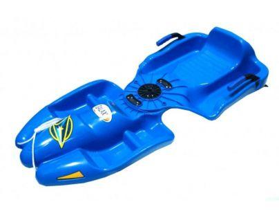 Plastkon Řiditelný bob Galaxy modrá