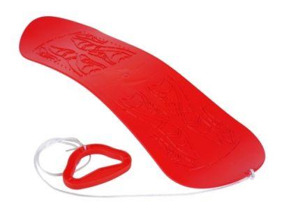 Plastkon Snowboard Skyboard červený