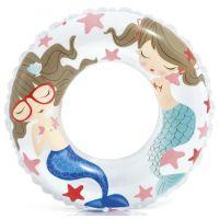 Intex 59242 Plavací kruh Ocean - Bílá