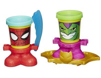 Play-Doh Avengers Kelímky ve tvaru hrdinů - Spider-Man a Green Goblin