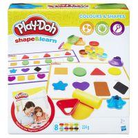 Play-Doh Barvy a tvary