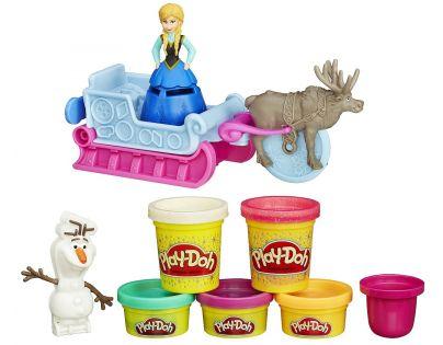 Play-Doh Disney Frozen Dobrodružství na saních
