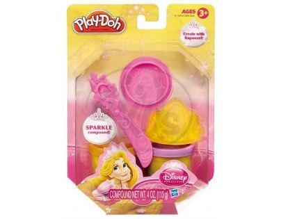 Play-Doh Disney Princess třpytivá modelína s vytlačovátky - Locika