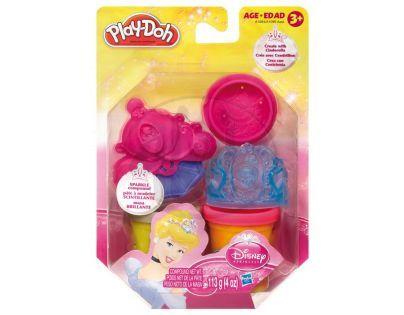 Play-Doh Disney Princess třpytivá modelína s vytlačovátky - Popelka