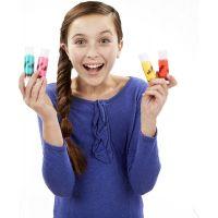 Play-Doh DohVinci Třpytivé náhradní tuby 6ks 3