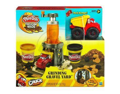 Play-Doh Hrací sada staveniště Hasbro 49413 - Chuck - Grinding Gravel Yard