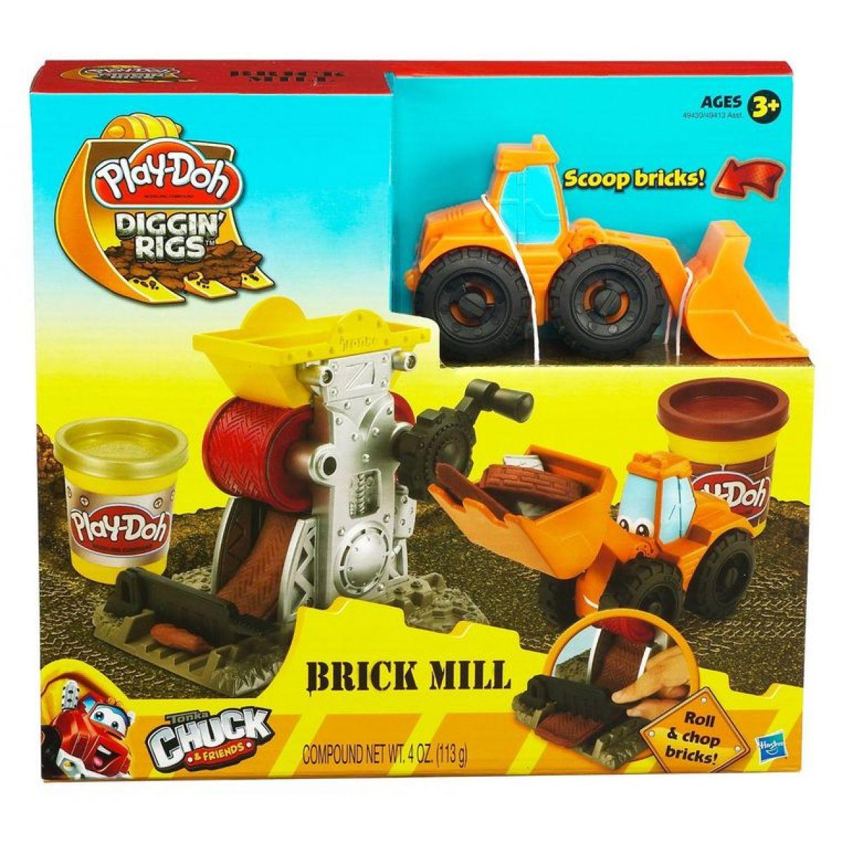 Play-Doh Hrací sada staveniště Hasbro 49413 - Phillip - Brick Mill