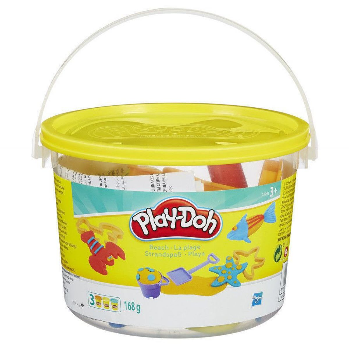 Play-Doh Praktický kyblík - Pláž 23242