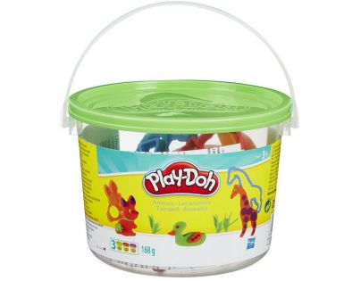 Play-Doh Praktický kyblík - ZOO 23413