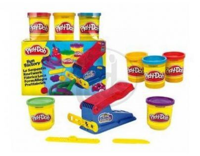 Play-doh sada s vykrajovacím strojkem +3 kelímky modelíny zdarma Hasbro 33433