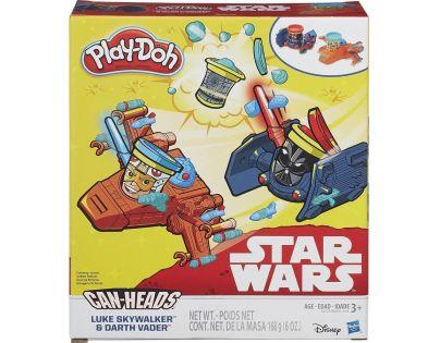 Play-Doh Star Wars Vozidla dvojbalení - Luke Skywalker a Darth Vader