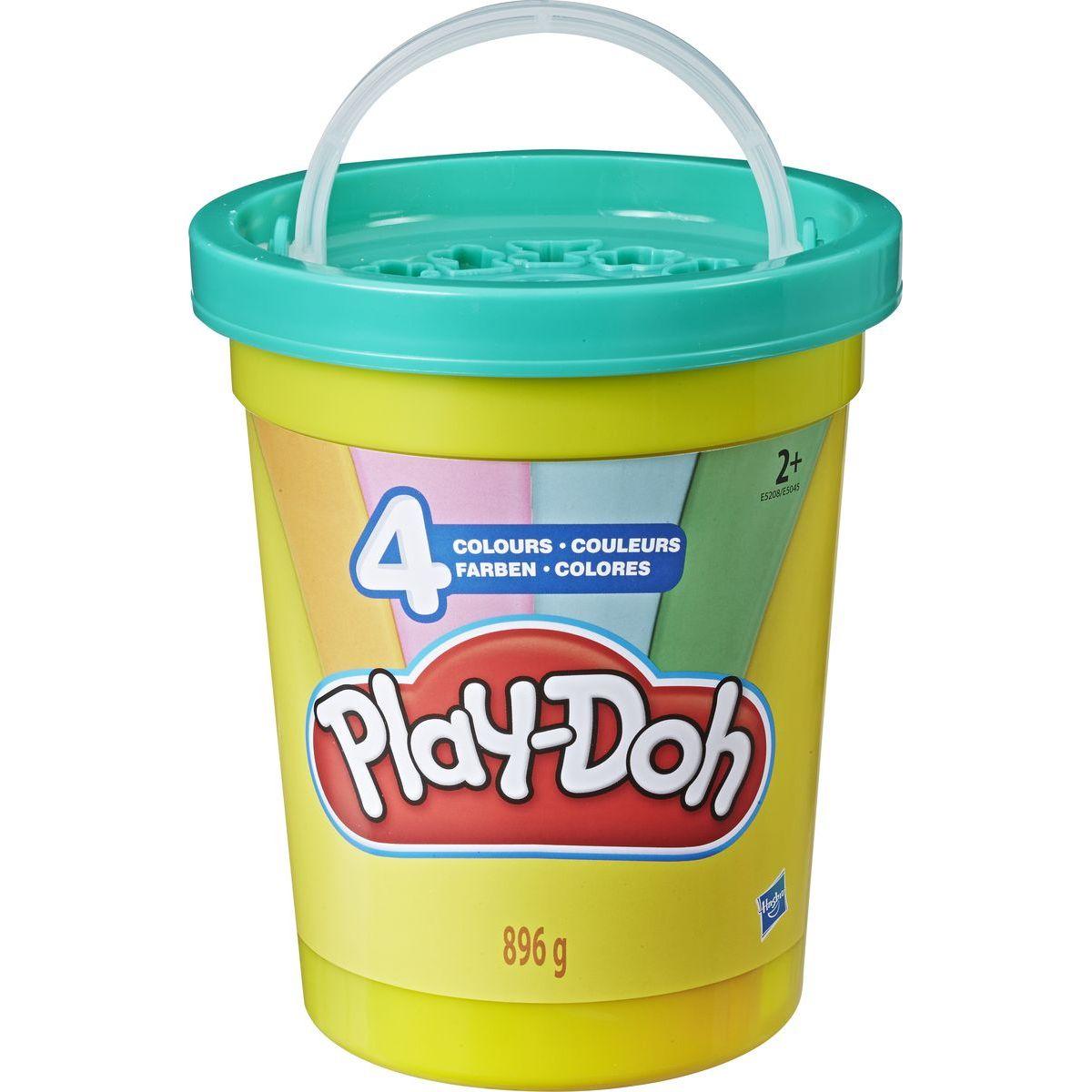 Play-Doh Super balení modelíny v kyblíku zelená Play-Doh