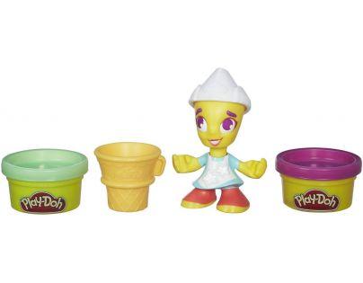Play-Doh Town figurka - Zmrzlinářka