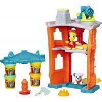 Play-Doh Town Požární stanice - Poškozený obal