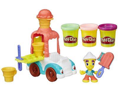 Play-Doh Town Zmrzlinářské auto