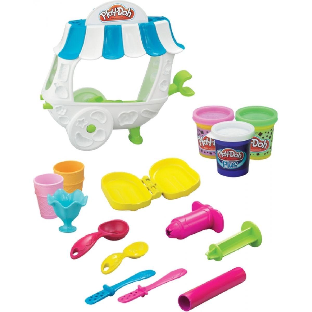 Play-Doh zmrzlinový stánek