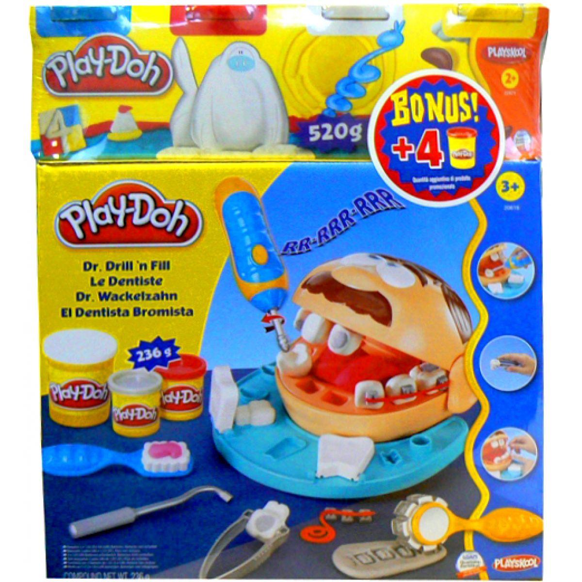 Play-Doh Zubař + BONUS 4 KELÍMKY ZDARMA