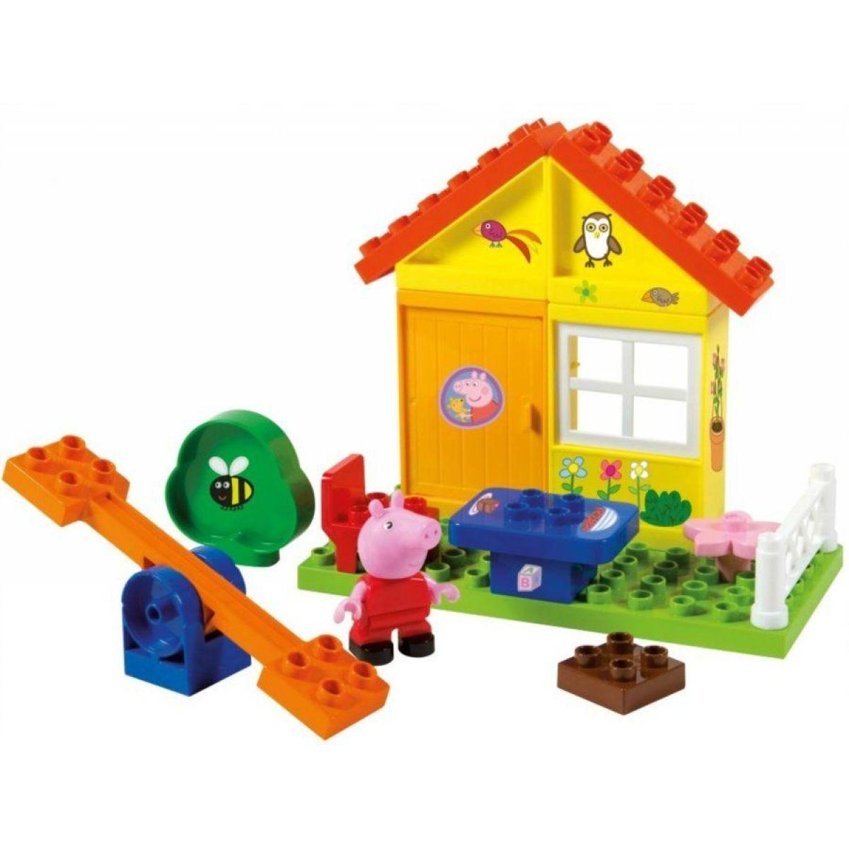 PlayBig Bloxx Peppa Pig Záhradný domček - poškodený obal