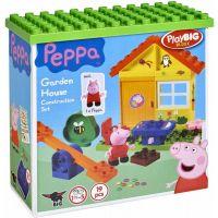 PlayBig Bloxx Peppa Pig Záhradný domček - poškodený obal 2