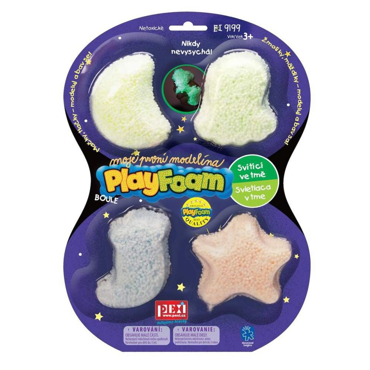 PlayFoam Boule 4pack Svítící