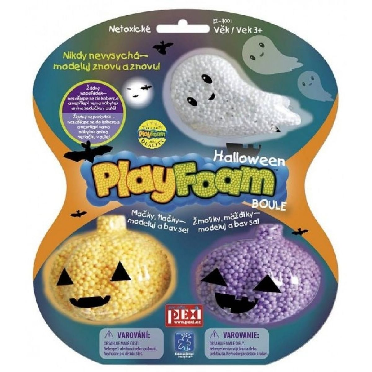 PlayFoam Boule Halloween 3 ks