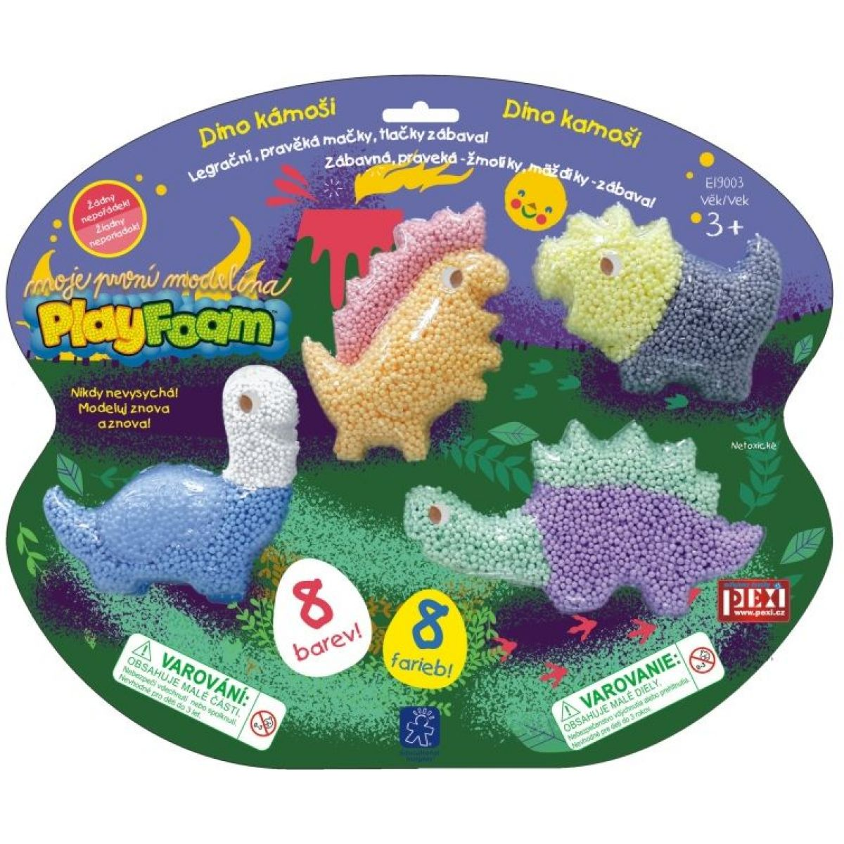 PlayFoam modelína Dino kámoši PlayFoam