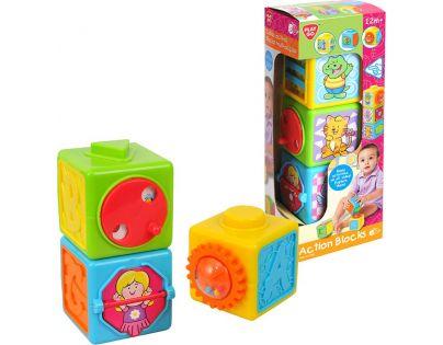 Playgo Aktivní kostky