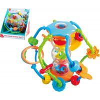 Playgo Koule edukační chrastítko plast 14 cm