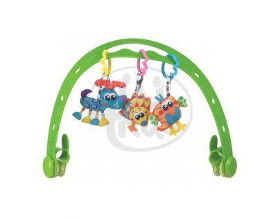 Playgro 0182254 - Cestovní hrazdička se zvířátky