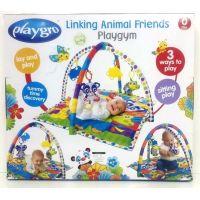 Playgro Hrací deka se zvířátky 4