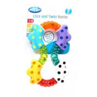 Playgro Hryzátko pohyblivá dážďovka 5
