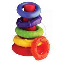 Playgro 4011455 - Plastové navlékací kroužky
