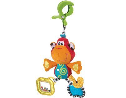 Playgro 182854 - Závěsná opička s klipem