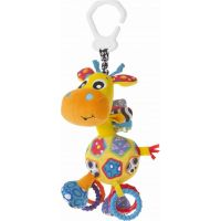 Playgro Závěsná žirafa s kousátky velká