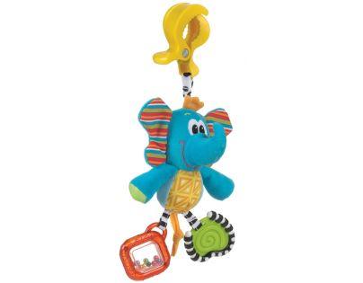 Playgro 182852 - Závěsný slon s klipem