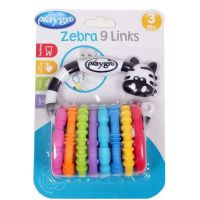 Playgro Zebra s kroužky 2