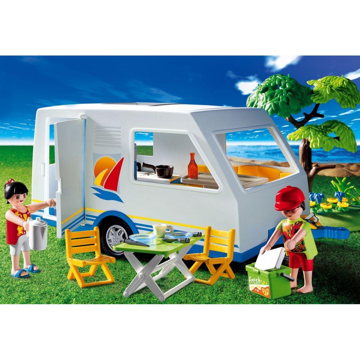 Playmobil 3236 - Obytný přívěs