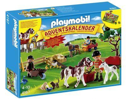 """Playmobil 4167 - Adventní kalendář """"Poníci s překvapením"""""""