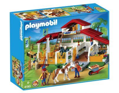 Playmobil 4190 - Velká stáj