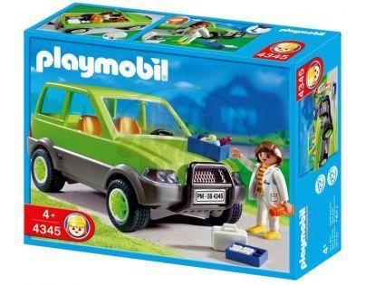 Playmobil 4345 Auto s veterinářkou