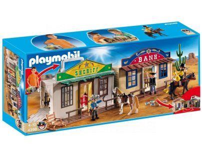Playmobil 4398 Přenosné westernové městečko