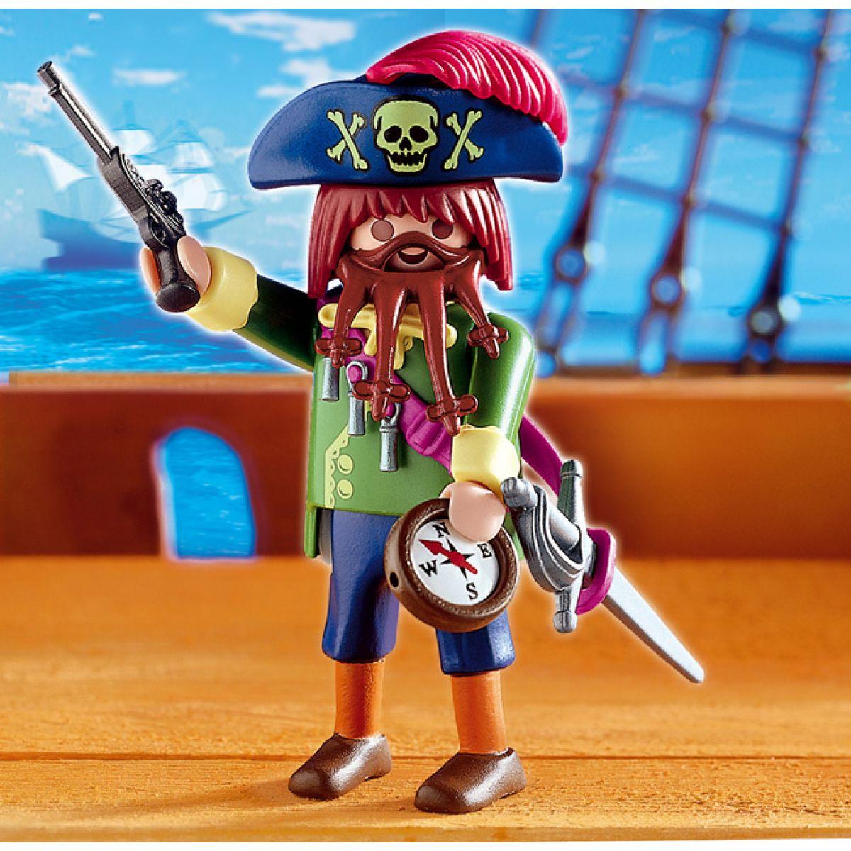 playmobil 4654  zlý pirát  4kids