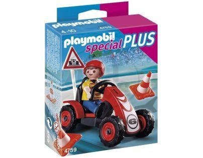Playmobil 4759 - Chlapec se závodní buginou