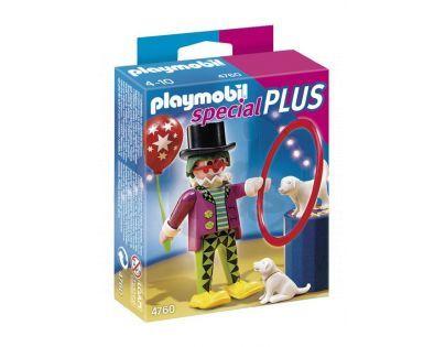 Playmobil 4760 - Klaun s psím představením