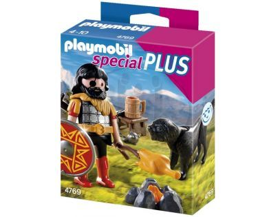 Playmobil 4769 - Barbar v tábořišti