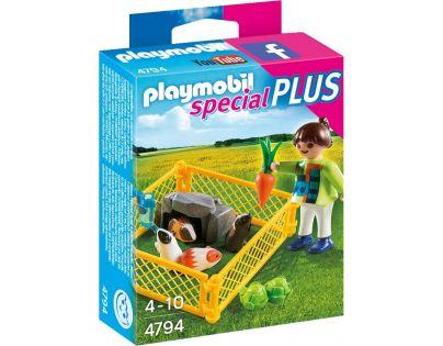 Playmobil 4794 Holčička s morčaty